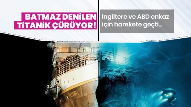 Titanik'in enkazı anlaşmayla korunacak