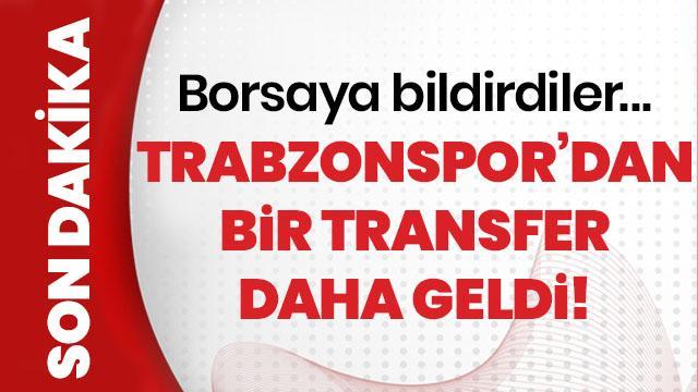 Trabzonspor Bilal Başacıkoğlu'nu transfer ettiğini açıkladı