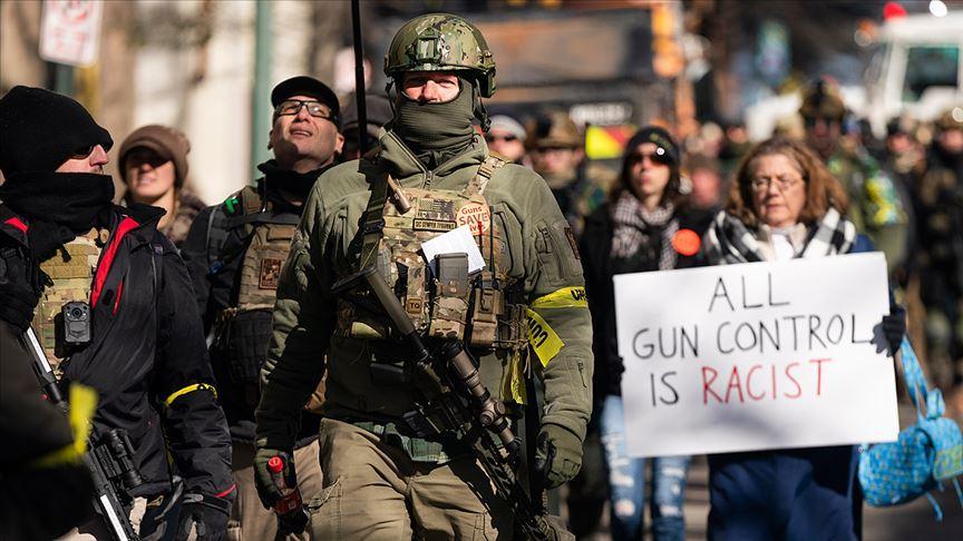 ABD'de silah hakları eylemcileri sokağa döküldü