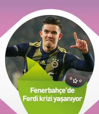Fenerbahçe'de Ferdi Kadıoğlu krizi yaşanıyor
