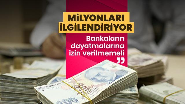 13 milyon emekliyi ilgilendiriyor! 'Bankaların dayatmalarına izin verilmemeli'