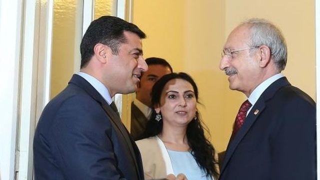 Kılıçdaroğlu yine şaşırtmadı! Demirtaş 'tiyatro'suna övgü dolu sözler
