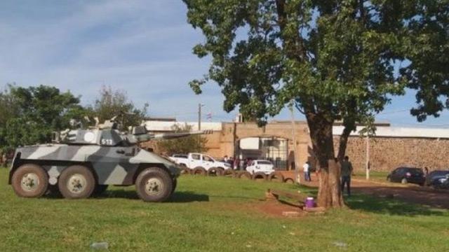 Paraguay'da 75 mahkum cezaevinden kaçtı