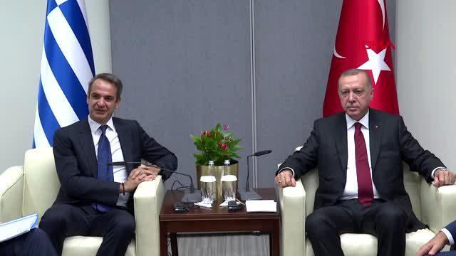 """Başkan Erdoğan'a """"Miçotakis sizinle arayı düzeltmek istiyor"""" diyen kim? Yunan gazeteci iki isim verdi"""