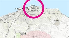 Hafter milisleri, Trablus'un Mitiga Havalimanı'nı grad füzeleriyle vurdu