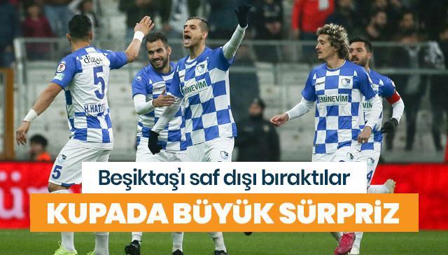 Beşiktaş'ın kupa macerası son buldu