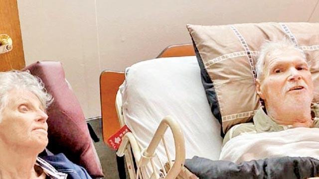 65 yıllık evli çiftaynı gün öldü