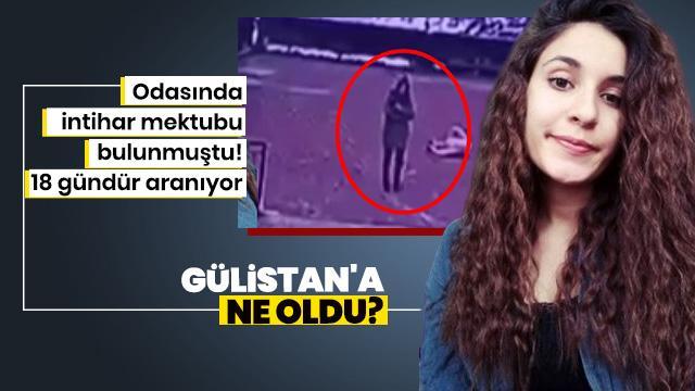 Üniversiteli kayıp Gülistan'ı arama çalışmaları 18. gününde devam ediyor