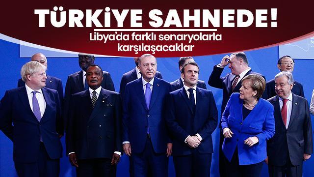 Türkiye sahnede! Libya'da farklı senaryolarla karşılaşacaklar