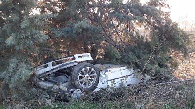 İstanbul Silivri'de buzlanan yolda otomobil takla attı: 1 ölü