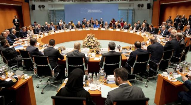 Berlin'den konferansında dikkat çeken detay: Hafter'e 'mareşal' demişler!