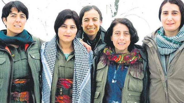 Kandil'de birlikte fotoğraf çektiren YJA-Star'ın 5 elebaşının hepsinin sonu ölüm oldu