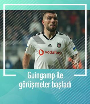 Beşiktaş, Rebocho'nun zorunlu satın alma opsiyonuyla ilgili Guingamp ile görüşüyor