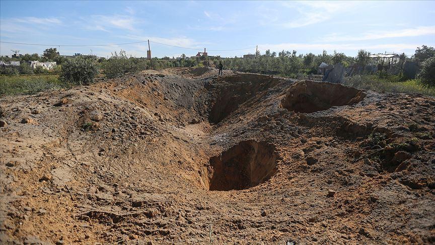 İsrail'in Gazze'deki tarım arazilerine verdiği zarar, 1,25 milyon doları aştı