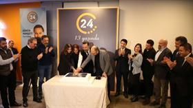 24 TV yayın hayatına başlamasının 13.yılını kutladı