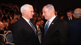 Pence, Netanyahu ve Gantz'ın 'Yüzyılın Anlaşması'nı görüşmek üzere Washington'a gideceğini doğruladı