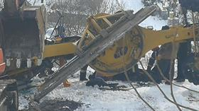 Karla mücadele çalışmasında feci kaza! Muhtar hayatını kaybetti