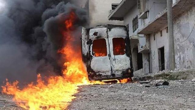 Esed ve Rus uçakları İdlib'in Eriha ilçesini vurdu: 6'sı çocuk, 8 sivil yaralandı