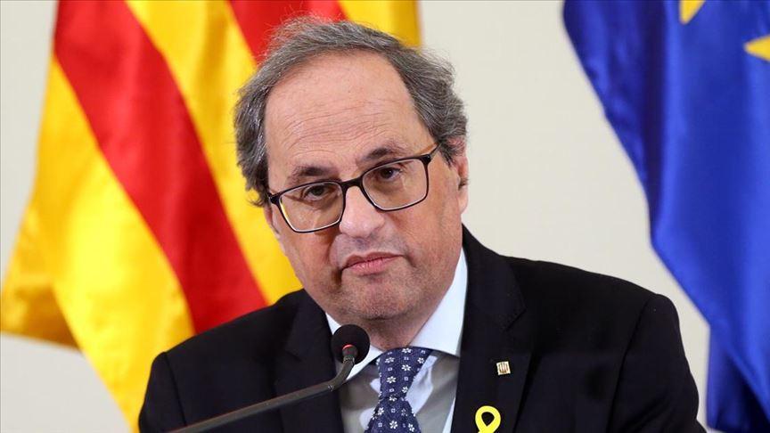 Katalonya Başkanı Torra, İspanya Yüksek Mahkemesinin kararını tanımadı