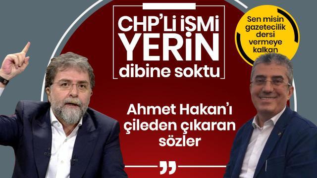 Ahmet Hakan'dan, CHP'li Günaydın'a sert tepki: Sizin nerenize saygı duyacağız