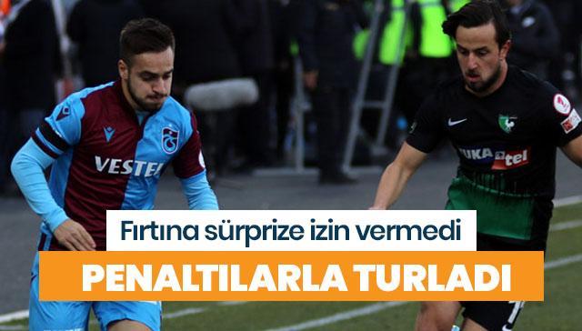 Trabzonspor, Denizlispor'u penaltılarla saf dışı bıraktı