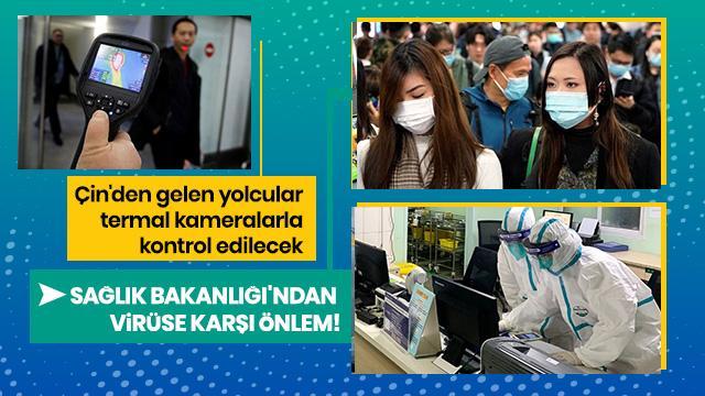 Sağlık Bakanlığı'ndan koronavirüsüne karşı önlem