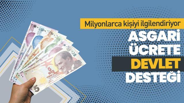 75 TL asgari ücret desteği! Asgari ücrete devlet desteği şartları neler?