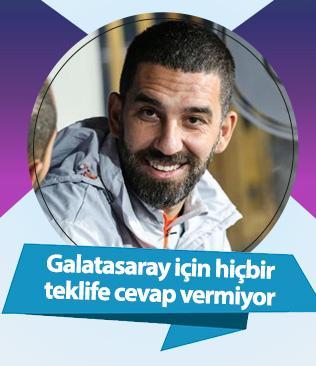 Arda Turan'ın aklı fikri Galatasaray'da