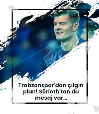 Sörloth'dan Trabzonspor'a: Burada mutluyum, bonservisimi alırsanız daha mutlu olurum
