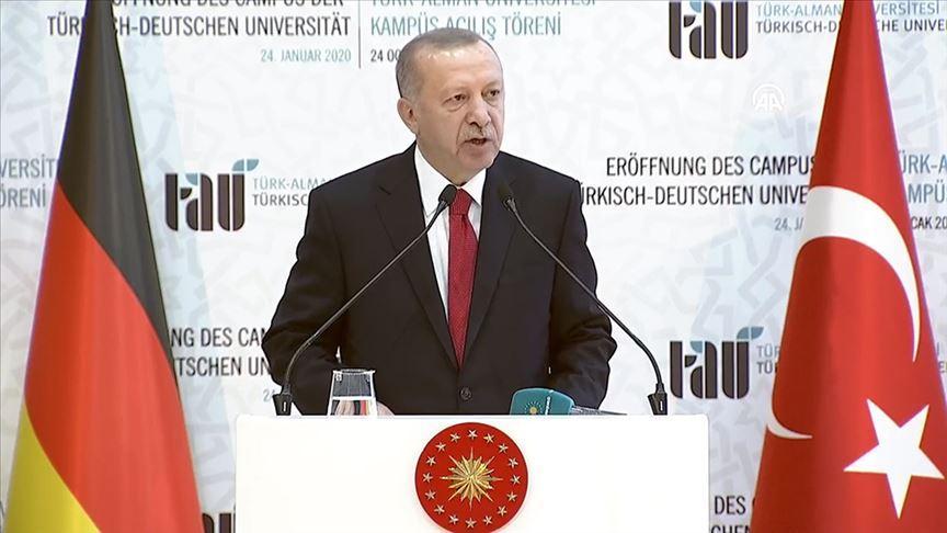 Başkan Erdoğan: Sükunet sağlanmazsa tüm Akdeniz'i etkileyecek