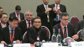 Ticaret Bakanı Ruhsar Pekcan, Davos'ta DTÖ toplantılarına katıldı