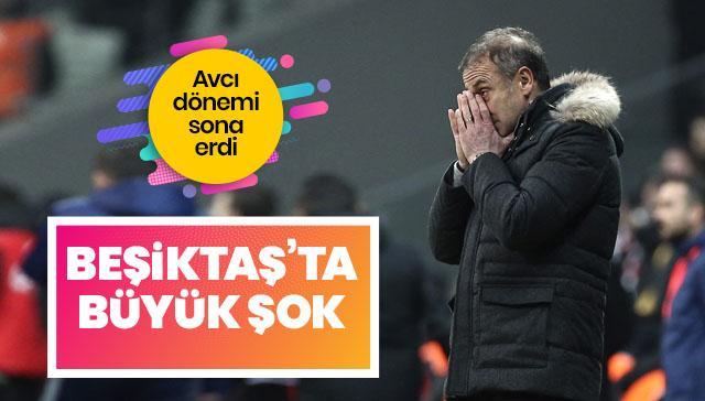 Beşiktaş ayrılık! Abdullah Avcı dönemi sona erdi