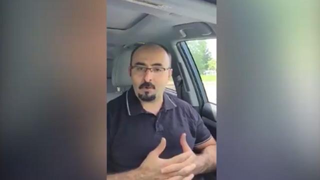 ABD şemsiyesi altında bulunan FETÖ'cü Emre Uslu'dan Başkan Erdoğan'a ölüm tehdidi
