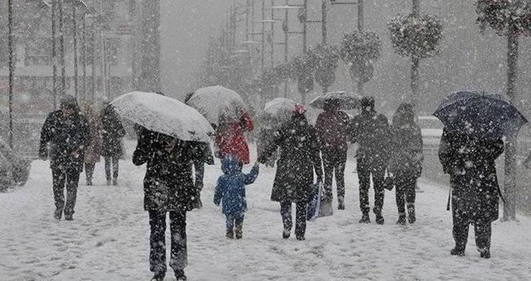 Meteoroloji'den 4 ile yoğun kar uyarısı! Hava sıcaklığı  2-4 derece düşecek