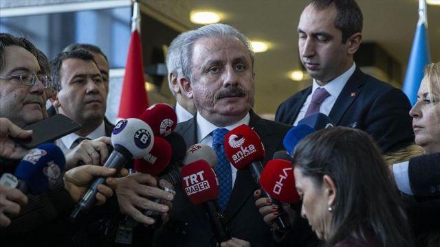 TBMM Başkanı Şentop, Yunanistan'ın Ege'deki 16 adayı silahlandırmasını değerlendirdi