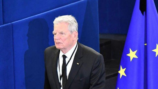 Almanya eski Cumhurbaşkanı Gauck: Erdoğan'ın desteğine ihtiyacımız var