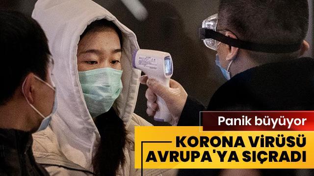 Panik büyüyor! Avrupa'da ilk korona virüsü vakası Fransa'da kaydedildi