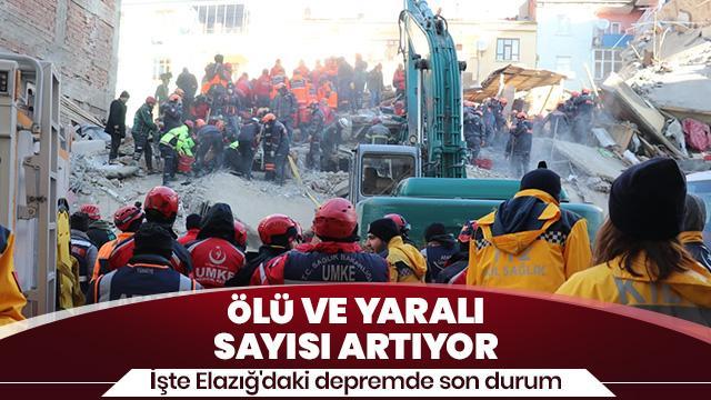 AFAD: 29 kişi hayatını kaybetti, 1466 kişi de yaralandı