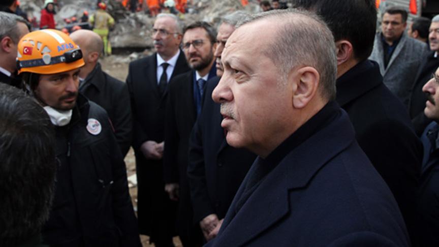 Başkan Erdoğan Elazığ'da