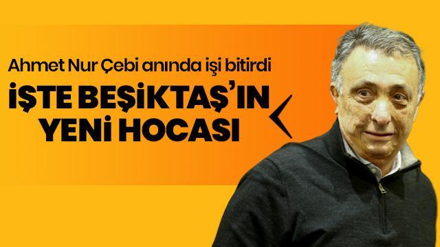 Beşiktaş, teknik direktörlük görevi için Sergen Yalçın ile anlaşma sağladı