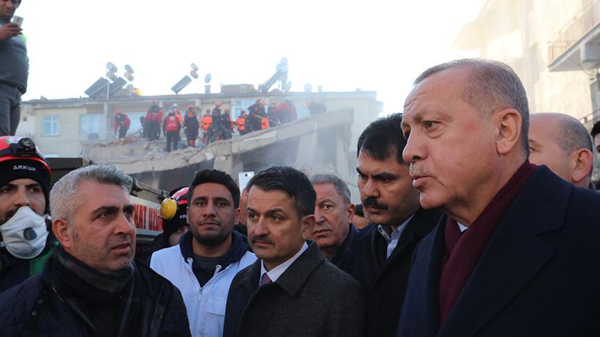 Başkan Erdoğan: Bu tür zamanlarda biliyorsunuz bazıları fırsat kollamaya kalkar