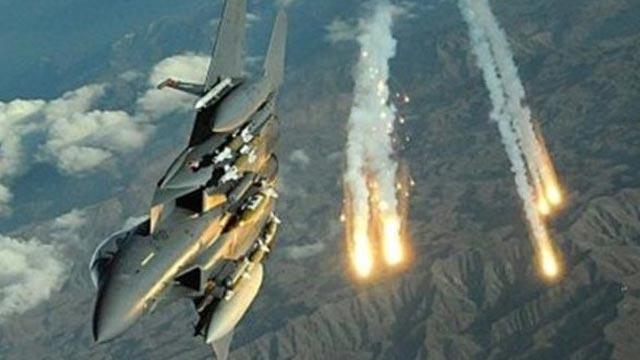 İsrail'den Filistin'e ait askeri noktaya hava saldırısı!