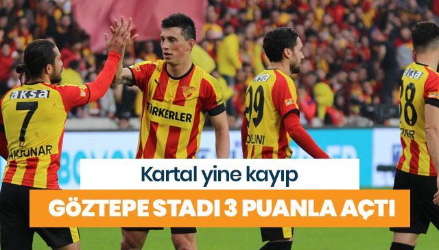 Göztepe yeni stadını üç puanla açtı