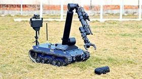 ASELSAN'dan jandarmaya 4 adet Kaplan Bomba İmha Robotu jesti!