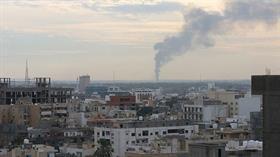 Darbeci Hafter'e bağlı teröristler Ebu Kıreyn bölgesine yoğun saldırı düzenliyor