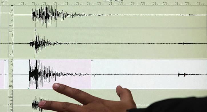 Son Dakika... Elazığ'da 4,0 büyüklüğünde deprem