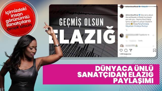 Dünyaca ünlü ses sanatçısı Elazığ'a seslendi: İçimiz ve ciğerimiz yanıyor