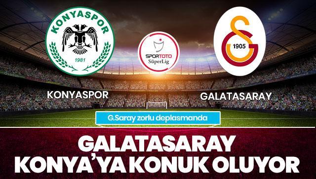 Konyaspor - Galatasaray CANLI ANLATIM
