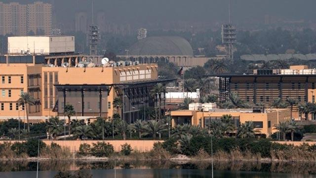 Bağdat'ta Yeşil Bölge'ye 5 adet füzeyle saldırı