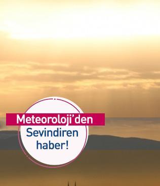 Meteoroloji: Sıcaklıklar artıyor